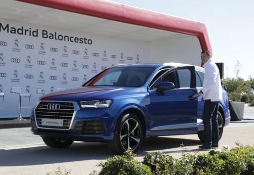 Jonas Maciulis y su Audi Q7