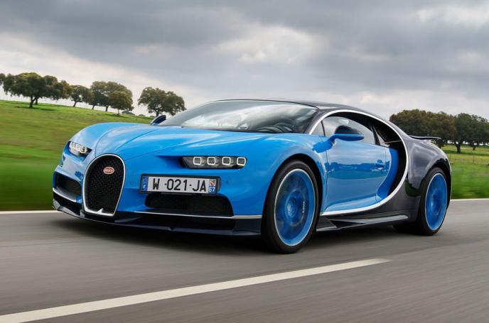 El exclusivo Bugatti Chiron, llamado a revisión extraordinaria