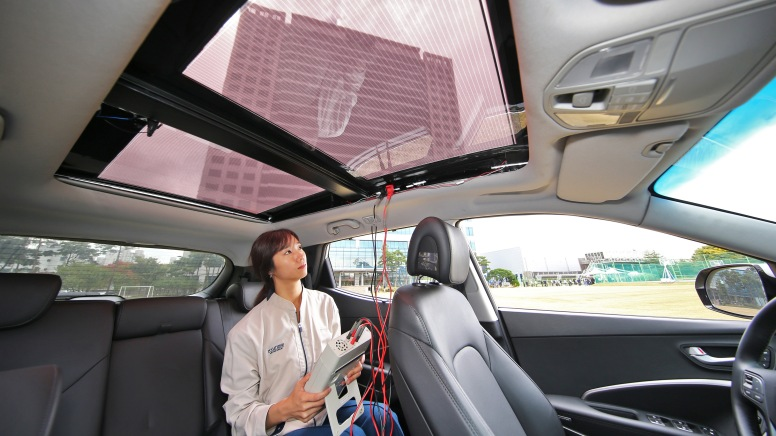 Kia and Hyundai reveal solar charging system tech_3